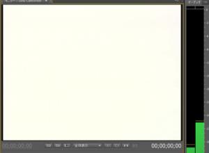 画面全体のホワイト映像