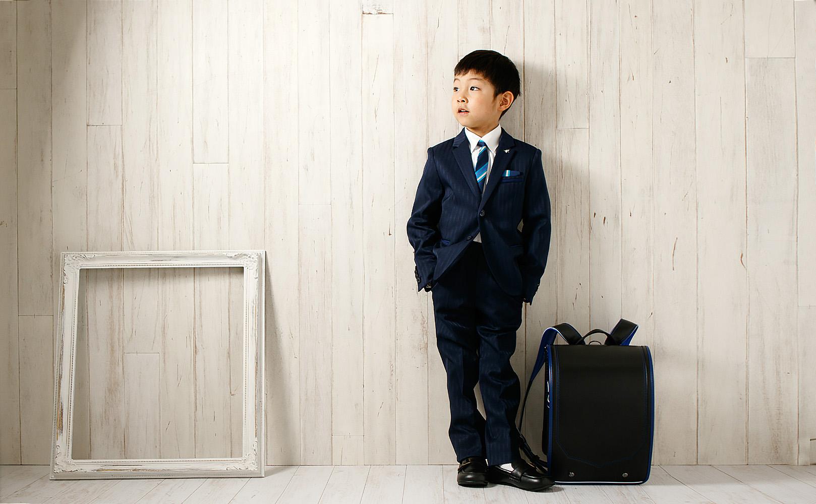 小学校入学記念男の子