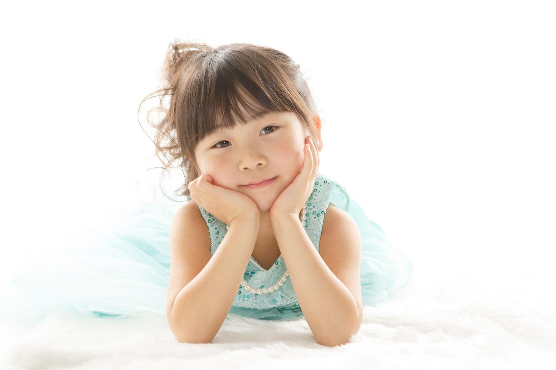 七五三記念写真女の子7才