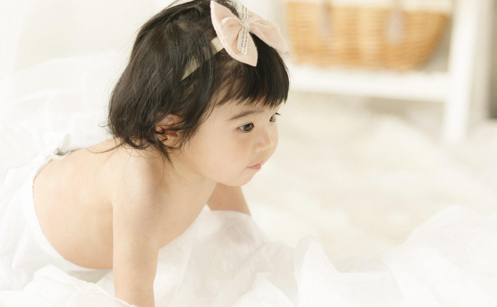 1歳誕生記念女児