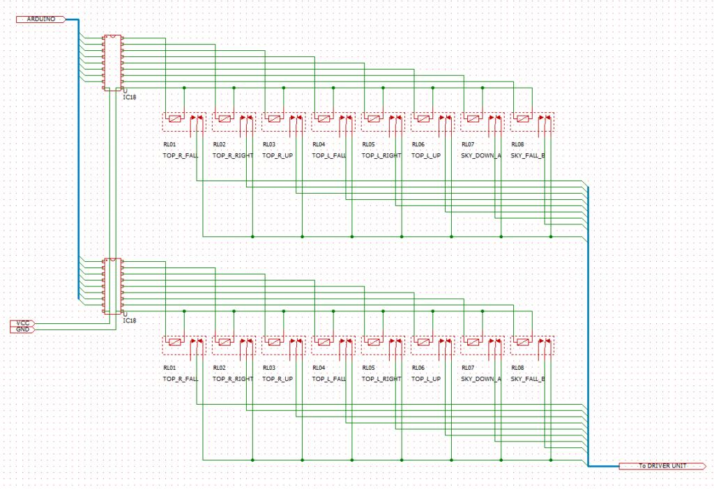 リレー基板回路図